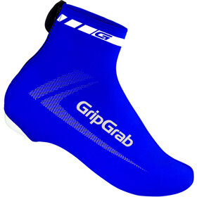 GripGrab RaceAero Lightweight Lycra Shoe Cover Blue
